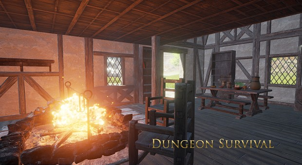 Dungeon Survival Teaser Screens