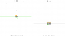 Visual improvements (tug mode)