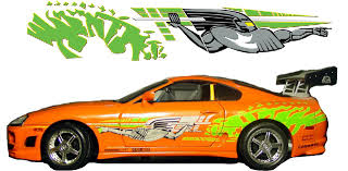 Brians 1995 Toyota Supra Decal Design