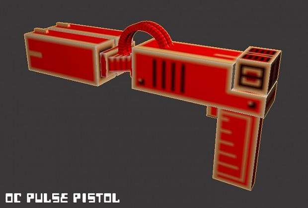 Hazard weapon models.