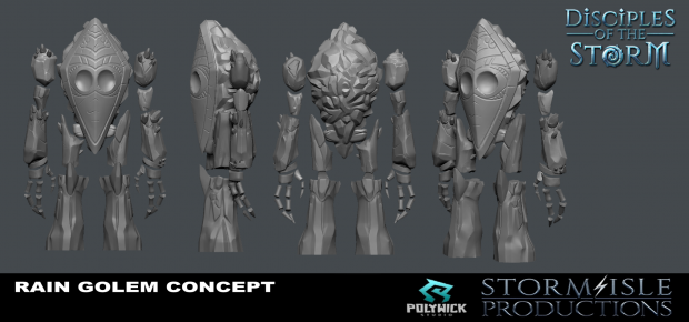 Disciples Of The Storm: Ice golem mesh