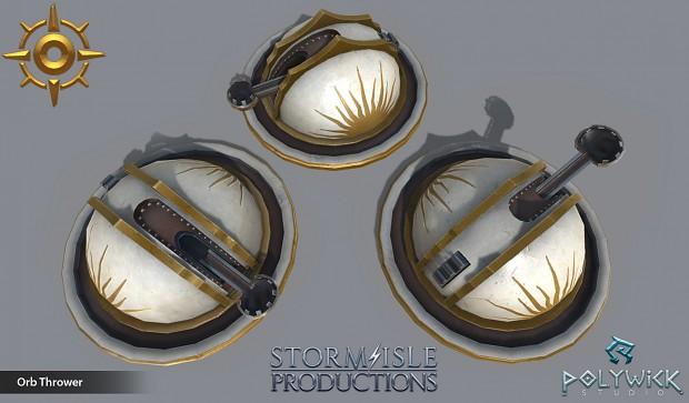 DOTS Sun Orb Thrower Promo