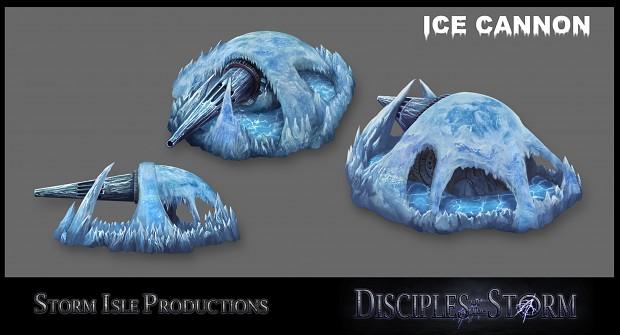 Rain faction Ice cannon