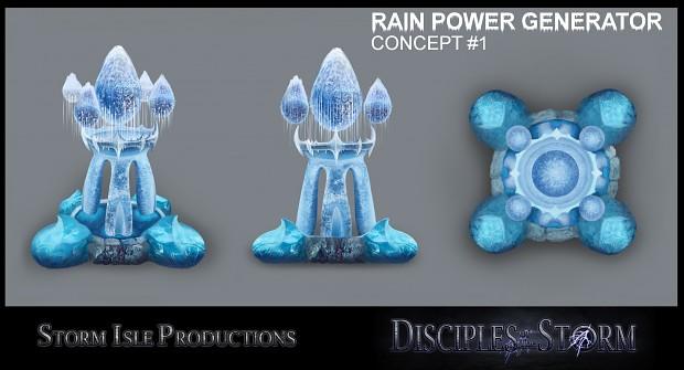 DOTS Rain faction power generator concepts