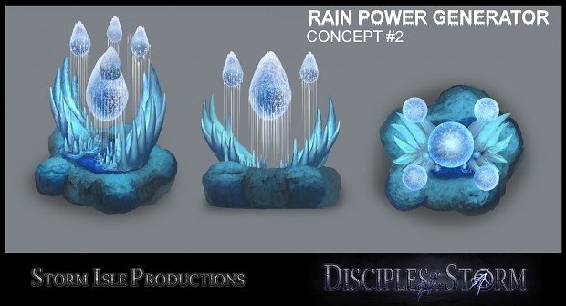 DOTS Rain faction power generator concepts