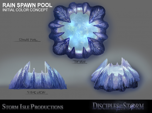 Rain Faction Air unit Spawning pool concept draft