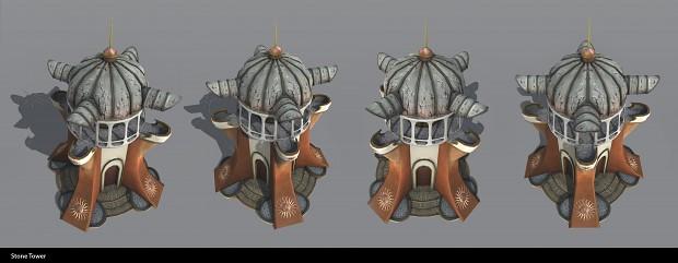 Sun Faction: Stone tower blocker