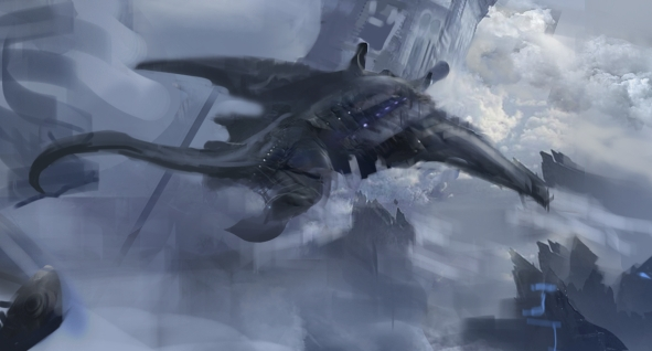 Air whaleconcept / Sky glider