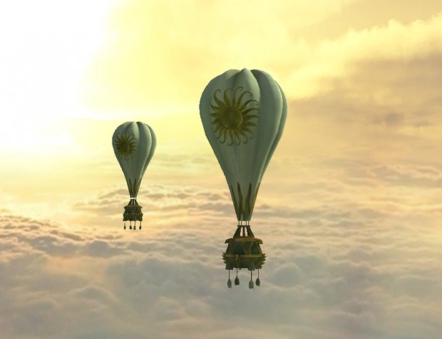 Sun Faction resource collecting balloon