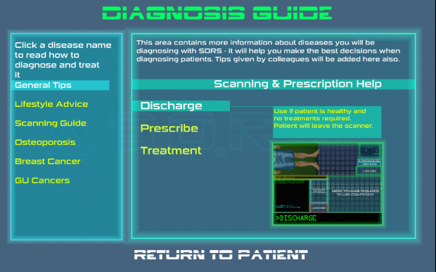 OLD diagnosis guide