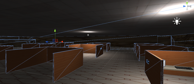 Level 5 inside of Unity