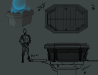 Hologram Table Concept