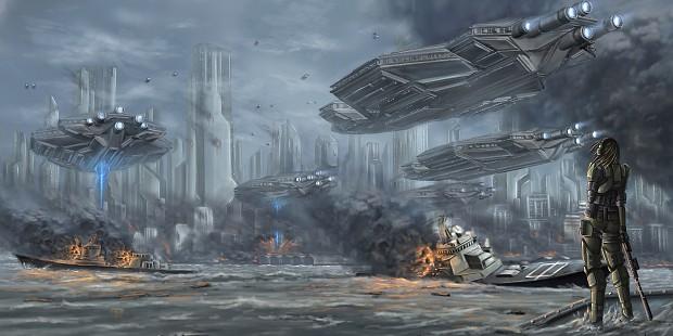 Fallen Planet Concept