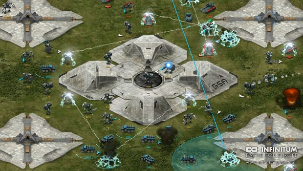 Main game map