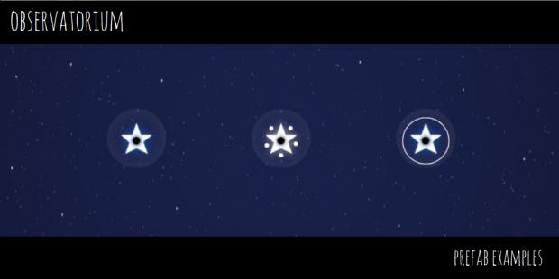 Observatorium - Prefab Examples - 1 - Stars