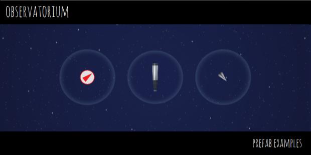 Observatorium - Prefab Examples - 3 - Pickups