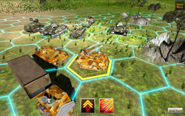 Turnbased minigame WIP image