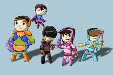 Squad A concept art