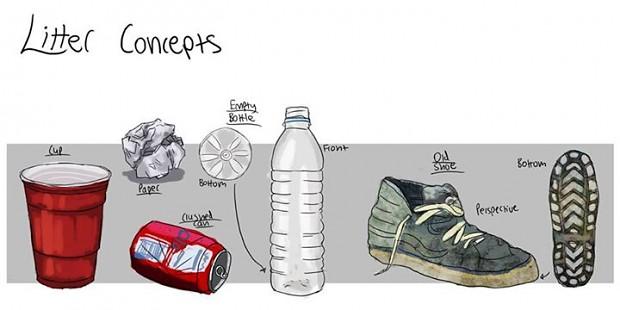 Design Concepts More clutter