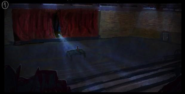 Feel concept for the auditorium