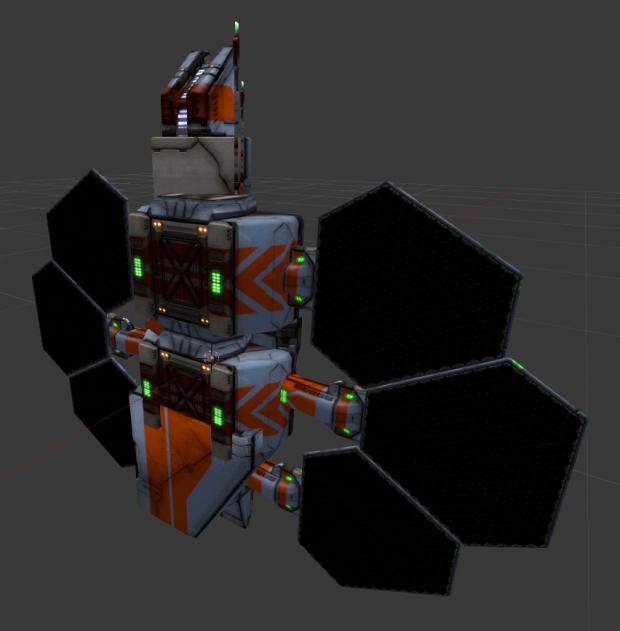 Solar Engine Kitbash