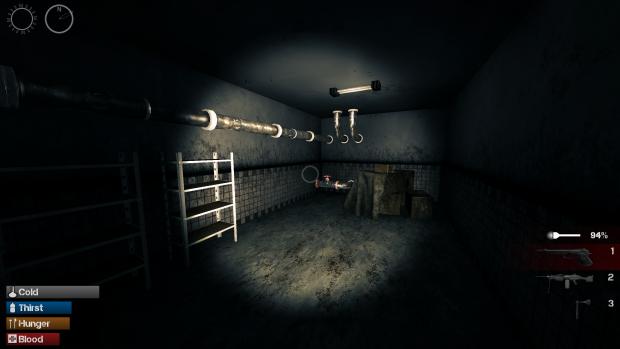 Sewer maintenance room