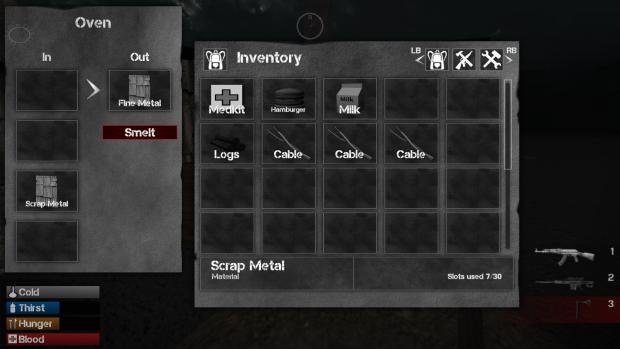 New UI & Smelting