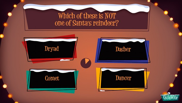 QuizWitz Holiday Release sample question