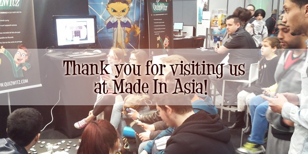 Thank you for visiting us at Made In Asia 2015