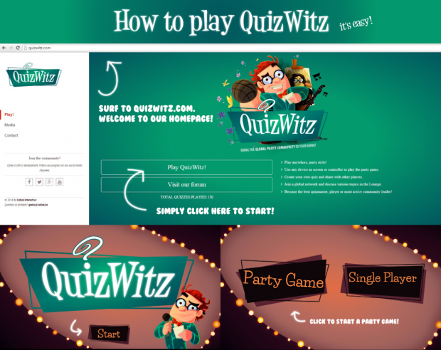 How to play QuizWitz