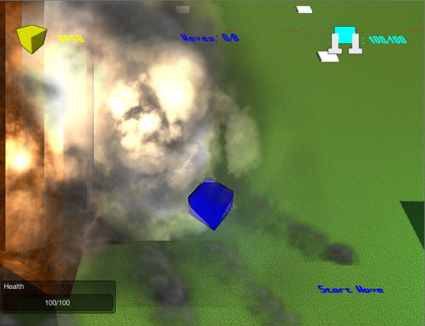 New explosion particle