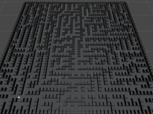 Crystal Rift Generated Maze