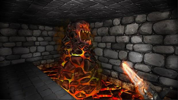 Lava Worm