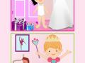 Princesses puzzles magic world