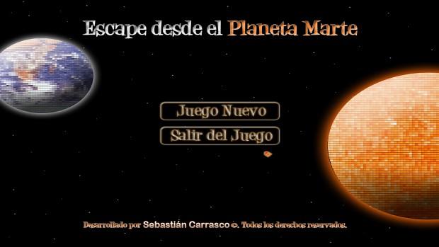 Escape desde el Planeta Marte