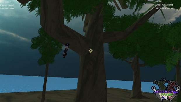 player in the tree branch 2