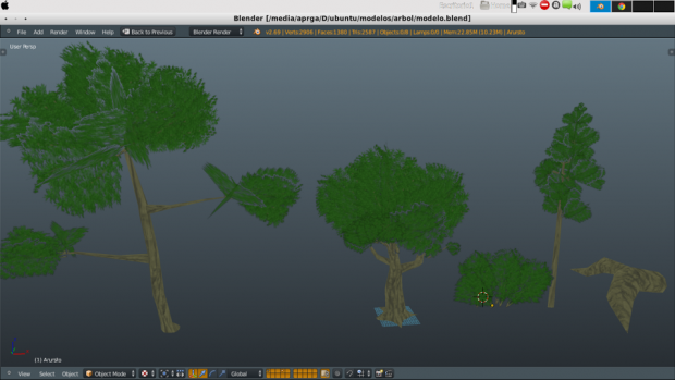 trees meshes
