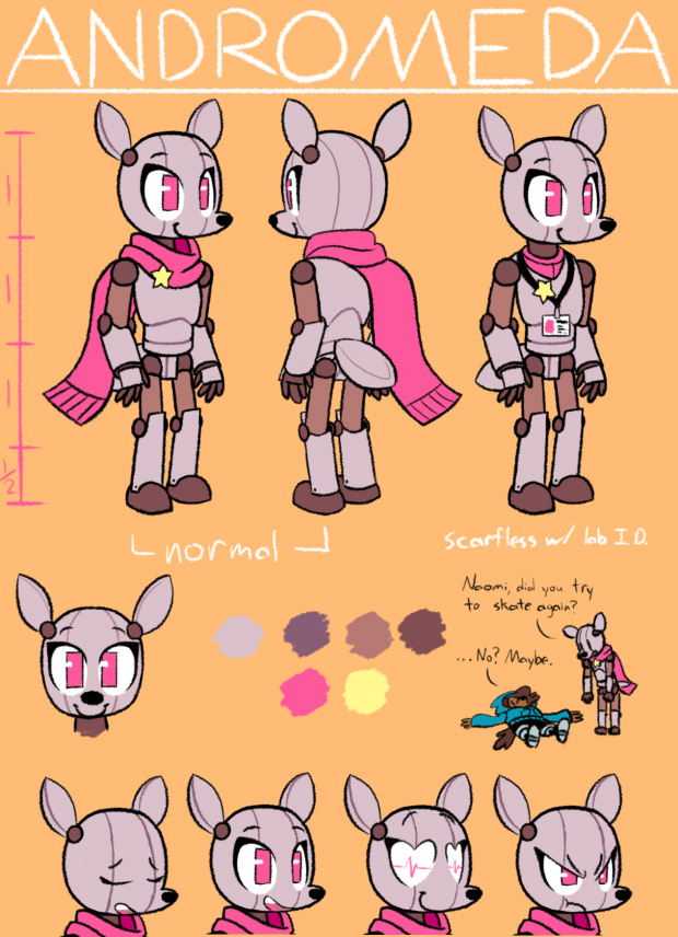 Character Concept - Andromeda Beaumont