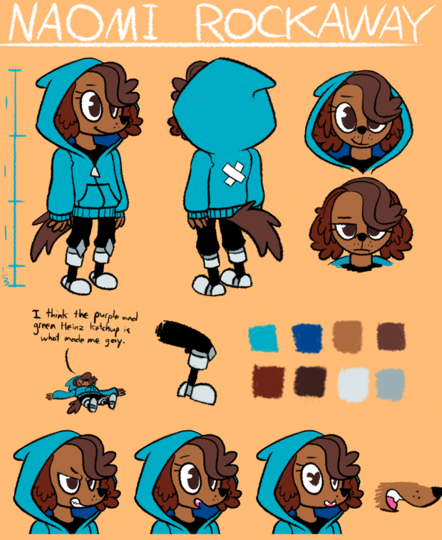 Character Concept - Naomi Rockaway