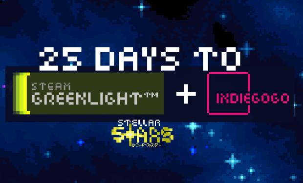 Stellar Stars - 25 Days Till Steam Greenlight + IndieGoGo!