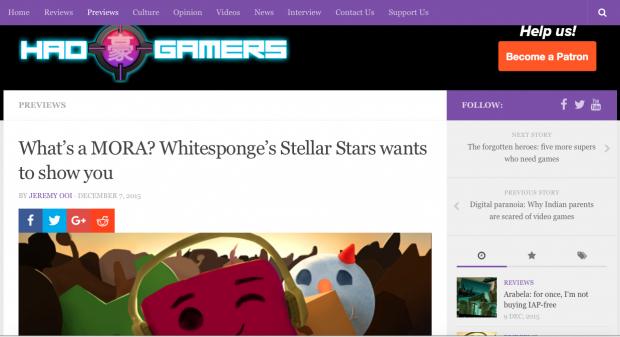 Stellar Stars - Featured On Haogamers