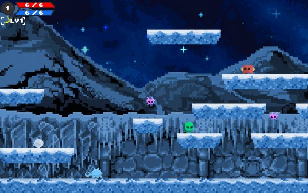 Stellar Stars - The New Ice World in v0.071a!