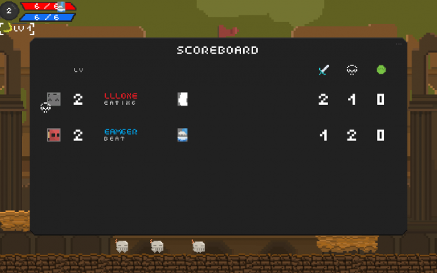 Stellar Stars - See Who's Dead With The Score Board!