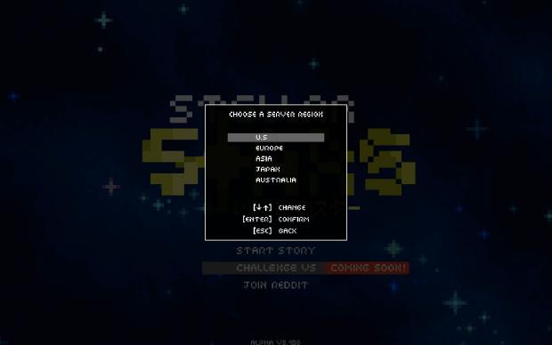 Stellar Stars - The New Server Region List!