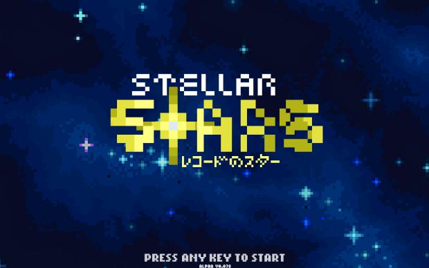 Stellar Stars - The Starting Screen v0.078a!