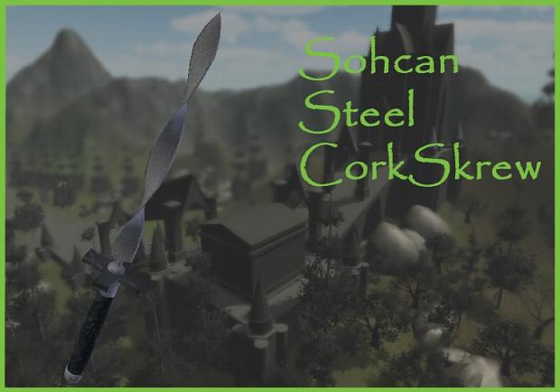 Sohcan Steel Corkscrew
