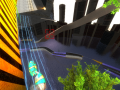 Red Forest: Procedurally Generated Pod Racing