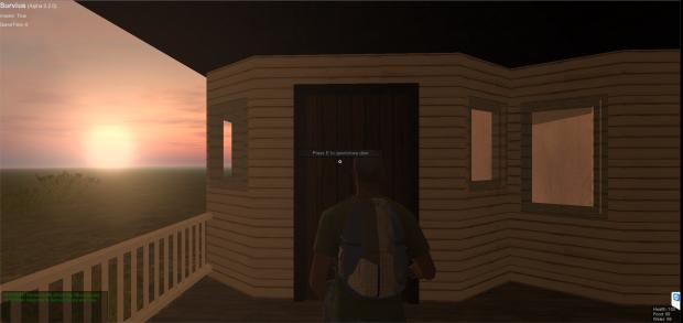 Doors in all buildings
