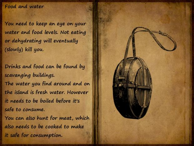 survival book - food