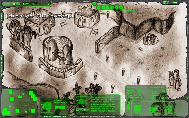 Mission GUI - Concept